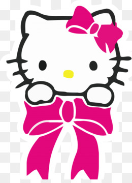 Hello Kitty Logo Image Vector Graphics Clip Art Hello Kitty