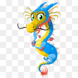 China, Chinese Dragon, Dragon, Seahorse, Animal Figure PNG image with transparent background