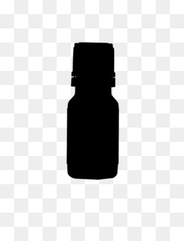Glass Bottle, Coating, Paint, Black, Bottle PNG image with transparent background