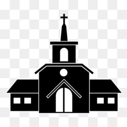 Church, Christian Church, Christianity, Steeple, Property PNG image with transparent background
