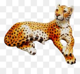 Cheetah, Leopard, Jaguar, Animal Figure, Felidae PNG image with transparent background