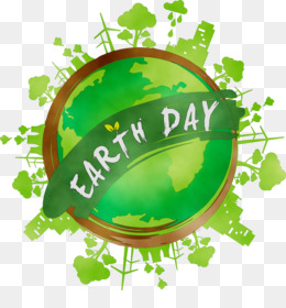 Earth, Earth Day, Natural Environment, Green, Logo PNG image with transparent background
