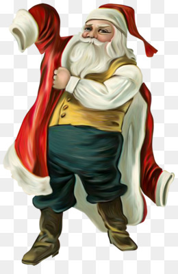 Santa Claus, Ded Moroz, Snegurochka, Fictional Character PNG image with transparent background