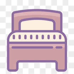 Bed, Computer Icons, Hotel, Purple, Pink PNG image with transparent background