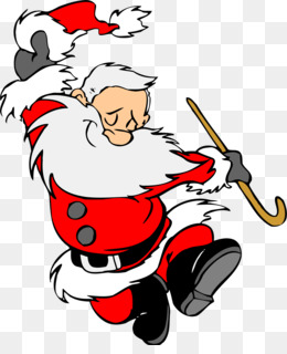 Santa Claus, Dance, Cartoon, Fictional Character PNG image with transparent background
