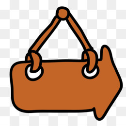 Download, Computer Icons, Cartoon, Bag, Orange PNG image with transparent background