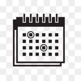 Calendario Vector Blanco.Logo Calendario Blanco Png