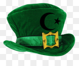 Leprechaun, Hat, Saint Patricks Day, Green, Clothing PNG image with transparent background