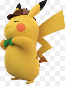 Detective Pikachu Clipart 500*500 transprent Png Free Download