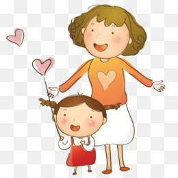 Family, Love, Cartoon, Child PNG image with transparent background