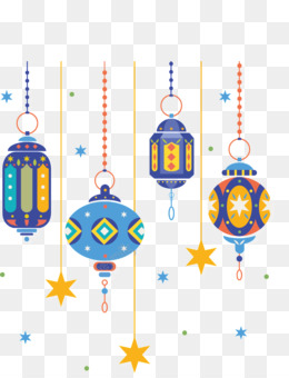 Ramadan, Lantern, Fanous, Holiday Ornament, Birthday Candle PNG image with transparent background
