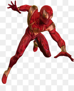 Spiderman, Spiderman Shattered Dimensions, Iron Spider, Superhero, Fictional Character PNG image with transparent background