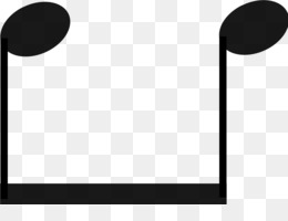 Eighth Note PNG - Beamed Eighth Note