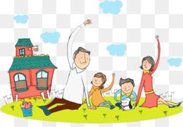 500 Gambar Animasi Orang Tua Dan Anak  Gratis