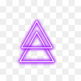 Neon Triangle PNG - Neon Triangle